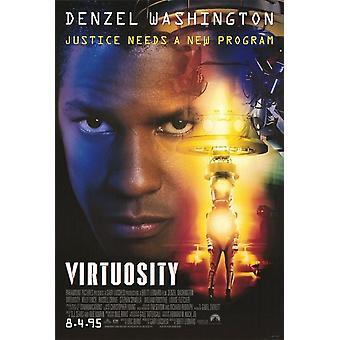 Virtuosity (Double Sided Advance) (1995) Original Cinema Poster