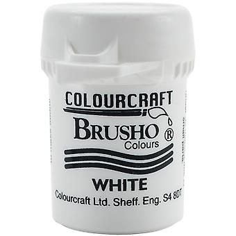 Brusho Crystal Colour 15g-White BRB12-W