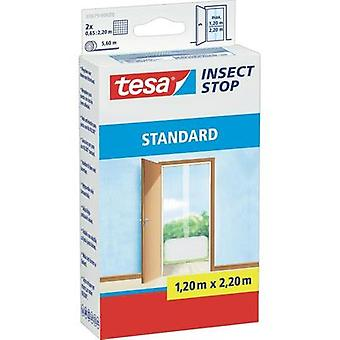 Fly screen tesa tesa® Insect Stop STANDARD (L x W) 2200 mm x 1300 mm White 1 pc(s)