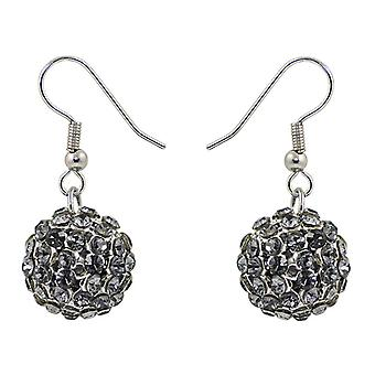 Crystal Mesh Ball Earrings EMB115.8