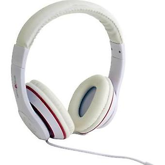 Gembird Los Angeles Hi-Fi Headphones White