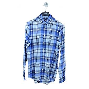 GANT Winter Twill Check Shirt - Palace Blue