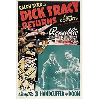 Dick Tracy Returns Movie Poster Print (27 x 40)