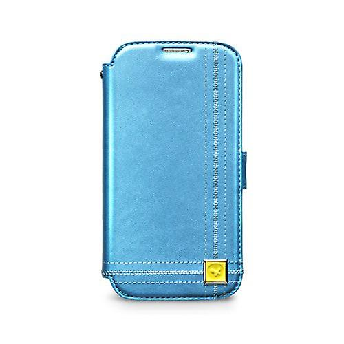 Zenus Masstige Color Point Diary leather case for Samsung Galaxy S4 i9500 blue