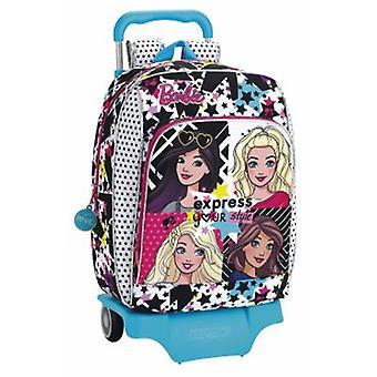 Safta Mochila 604 Con Carro 905 Barbie You Can Be (Toys , School Zone , Backpacks)