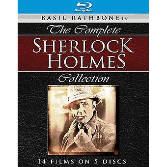 Sherlock Holmes: The Complete Collection [BLU-RAY] USA import