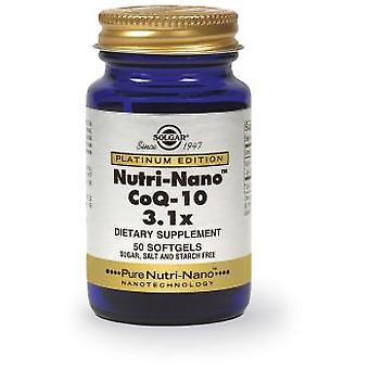 Solgar Nutri-Nano Coenzyme Q10 50Cap 3.1X. (Vitamins & supplements , Special supplements)