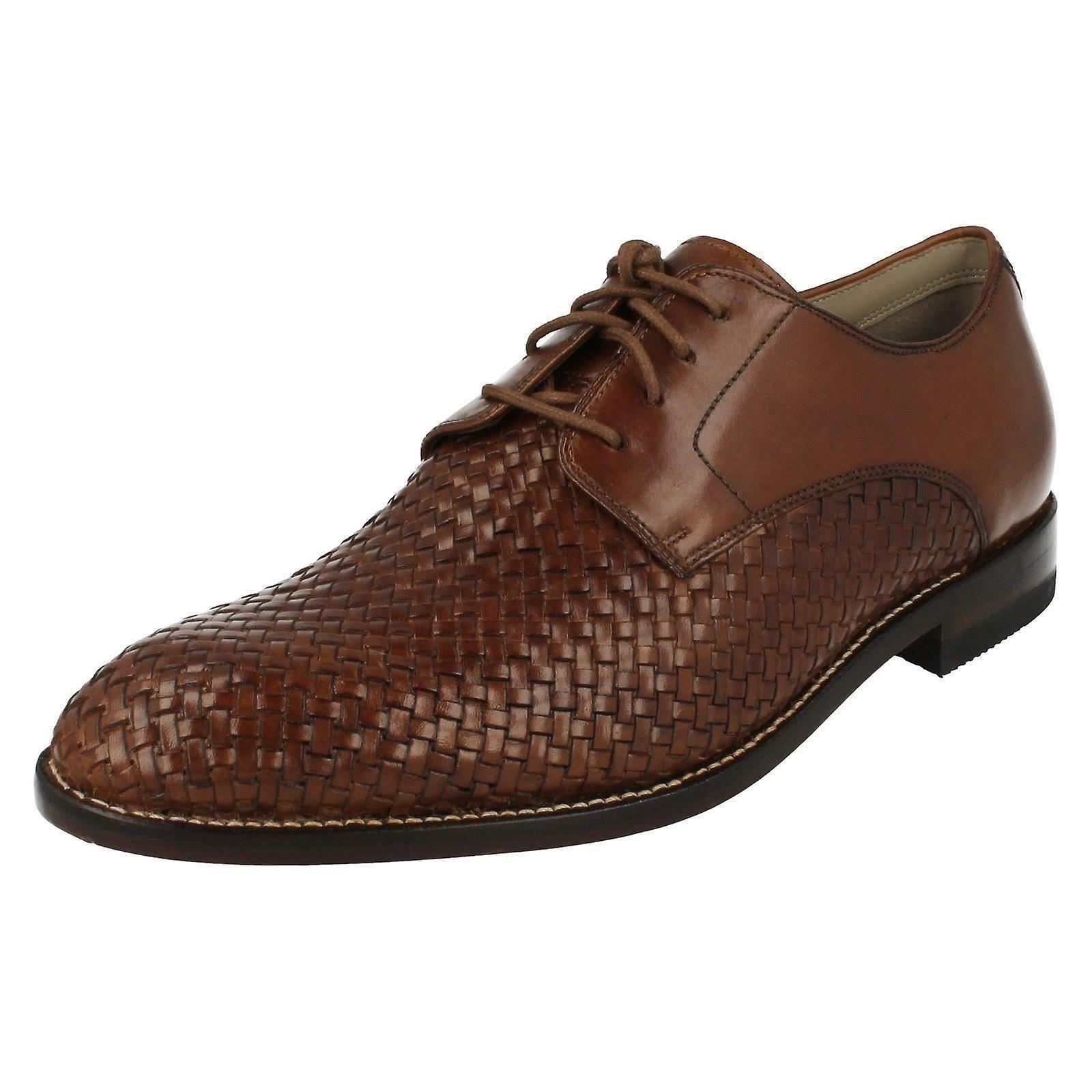 Herren Clarks Smart Lace Up Schuhe Twinley Spitze