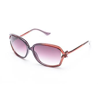 Moschino Women's  Bow Detailed Oversized Sunglasses Brown