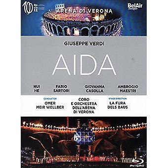 Verdi - Aida [BLU-RAY] USA importerer