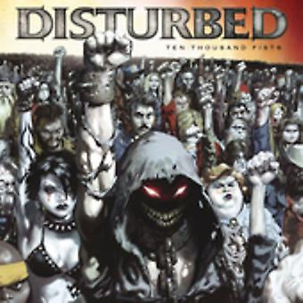 Disturbed - Ten Thousand Fists [CD] USA importare