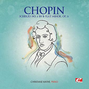 F. Chopin - Scherzo 2 B-Flat Minor Op 31 [CD] USA import