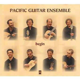 Pacific Guitar Ensemble - Begin [CD] USA import