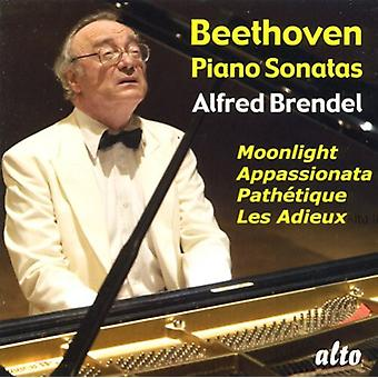 L.V. Beethoven - Beethoven: Piano Sonatas Moonlight, Path Tique, Appassionata, Les Adieux [CD] USA import