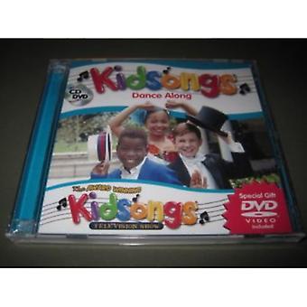 Kidsongs - dans langs samling [CD] USA import
