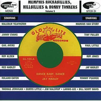 Importación de Memphis Rockabillies Hillbillies & Honky Tonkers - Memphis Rockabillies Hillbillies & Honky Tonkers [CD] Estados Unidos
