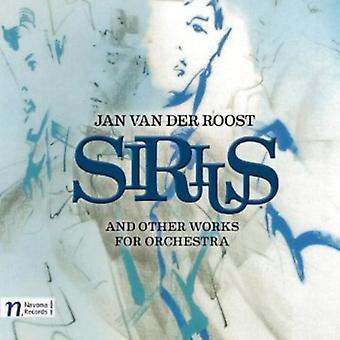 Van Der Roost, Jan - Jan Van Der Roost: Importación de USA de Sirius [CD]