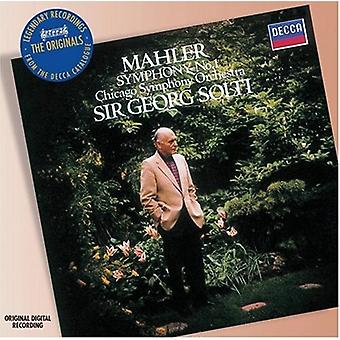 G. Mahler - Mahler: Symphony No. 1 [1983 Recording] [CD] USA import