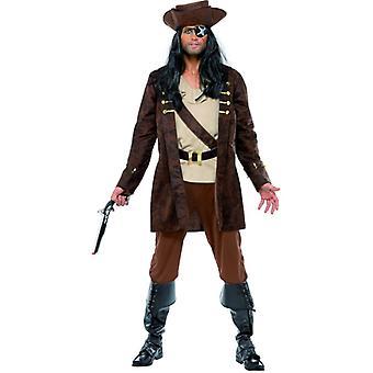 Piratenkostüm Kostüm Pirat Käptn Karibik edel Freibeuter Herren