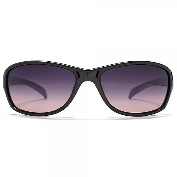 Freedom Polarised Soft Wrap Sunglasses In Black