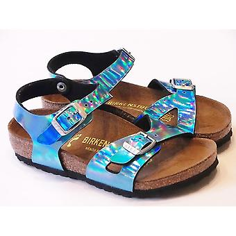 Birkenstock RIO KIDS MIRROR BLUE
