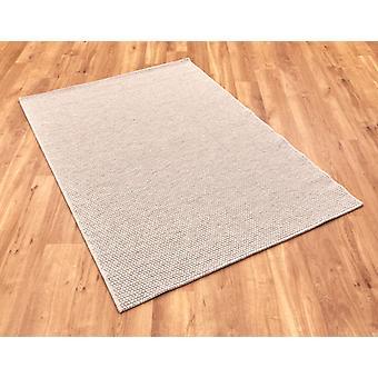Highline 990215 6001 crema chiaro grigio rettangolo tappeti liscio/quasi normale tappeti