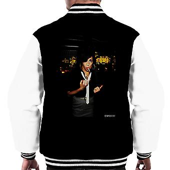 Varsity Jacket Amy Winehouse fumare maschile