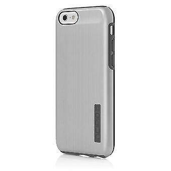 Incipio DualPro Shock-absorbing Case for Apple iPhone 6/6S - Silver/Gray