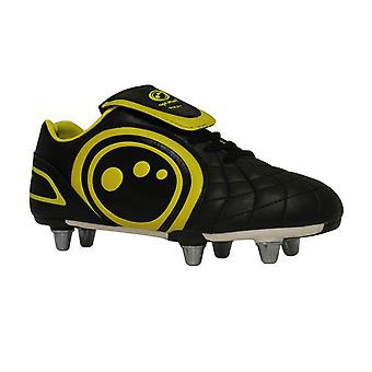 OPTIMAL eclipse rugby boot junior [svart/gul]