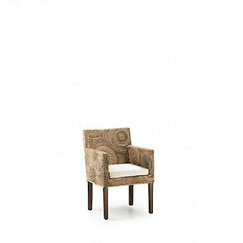 Moycor Rattan chair with cushion 56x60x85 Banana Circulos
