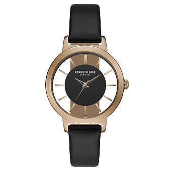 Kenneth Cole New York women's wrist watch analog quartz leather KC15172004