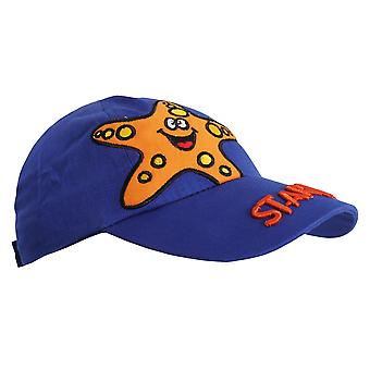 Childrens/Kids Octopus/Starfish Design Baseball Cap