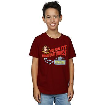 Elf Boys World's Best Coffee T-Shirt