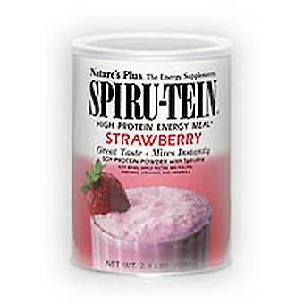 Natures Plus STRAWBERRY SPIRUTEIN SHAKE 1.2 LB (UK)