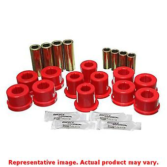Energy Suspension Control Arm Bushing Set 8.3126R Red Front Fits: TOYOTA 1987 -