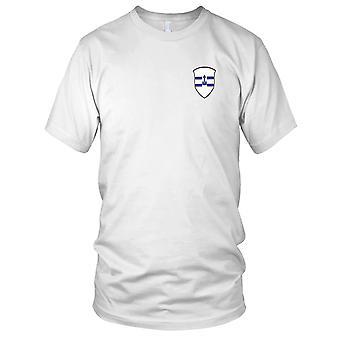 US Army - 207th Infanteriregiment brodert Patch - Mens T-skjorte