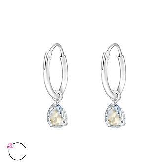 Drop Crystal From Swarovski® - 925 Sterling Silver Earrings - W32859x