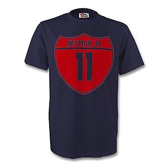 Neymar Jr Barcelona Crest Tee (us navy) - dla dzieci