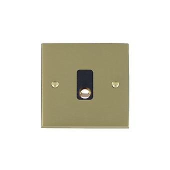 Hamilton Litestat Cheriton Victorian Satin Brass 20A Cable Outlet BL