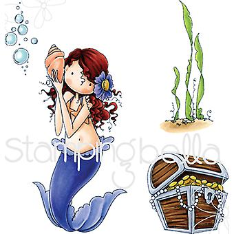 Stamping Bella Tiny Townie Cling Stamp-Mermaid EB519