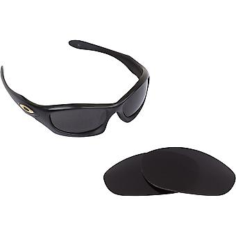 Monster Dog Replacement Lenses Black & Bronze Brown by SEEK fits OAKLEY