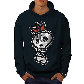 Skull Of The King Men NavyHoodie | Wellcoda