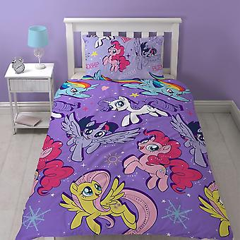 My Little Pony Movie Adventure Single Duvet Cover Set Polyester