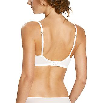 Mey 74217-1 Women's Joan White Solid Colour Non-Padded Non-Wired Soft Bra