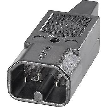Hot wire connector C16 Series (mains connectors) 42R Plug, straight