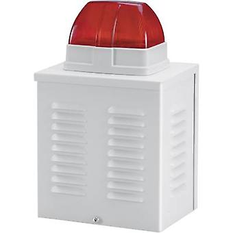 Enclosure for sounder or flashing light Indoors, Outdoors