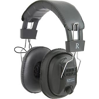 QTX Mono/Stereo MSH40 Headphones with Volume Control