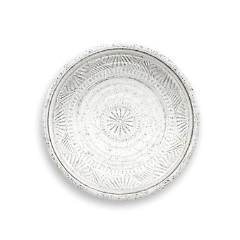 Epicurean Artisan Melamine Side Plate White 21cm