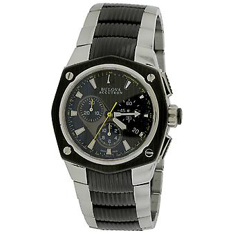 Accutron Corvara Two-Tone Chronograph Mens Watch 65B123