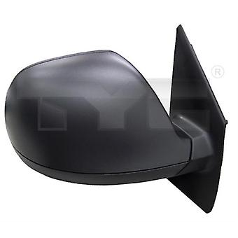 Right Mirror (Manual, Black Cover) For VW MULTIVAN Mk V 2010-2015